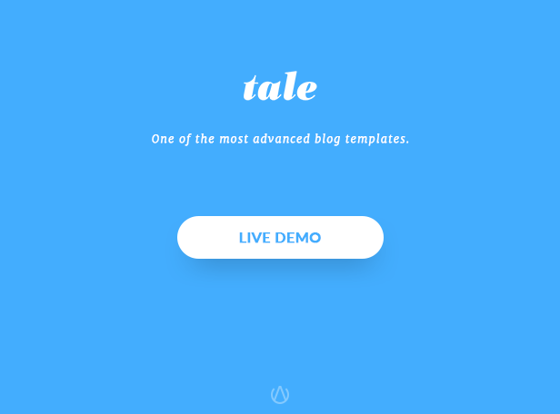 Tale - Strorytelling and Magazine Bootstrap Template - 1